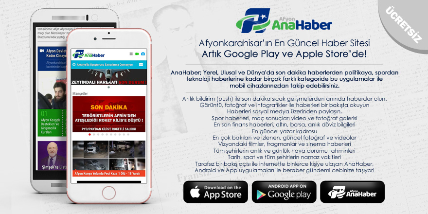 Android ve App Uygulamalarımız Yayında !
