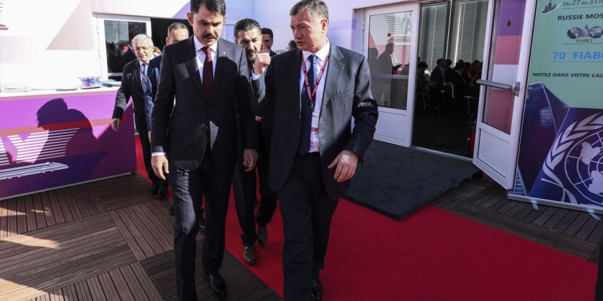 Bakan Kurum Cannes'da